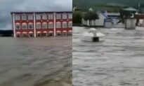 River Levels Rise to Highest Level in Decades in Northeast China