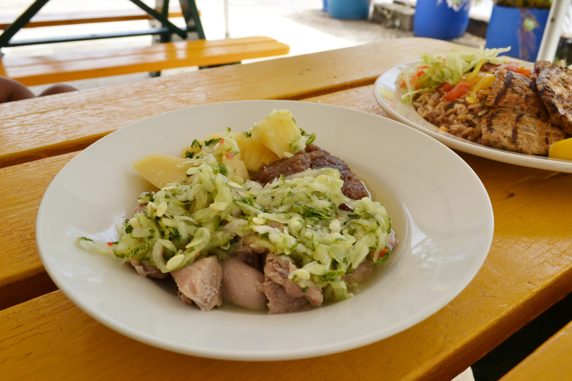Pudding and Souse - Bajan Food