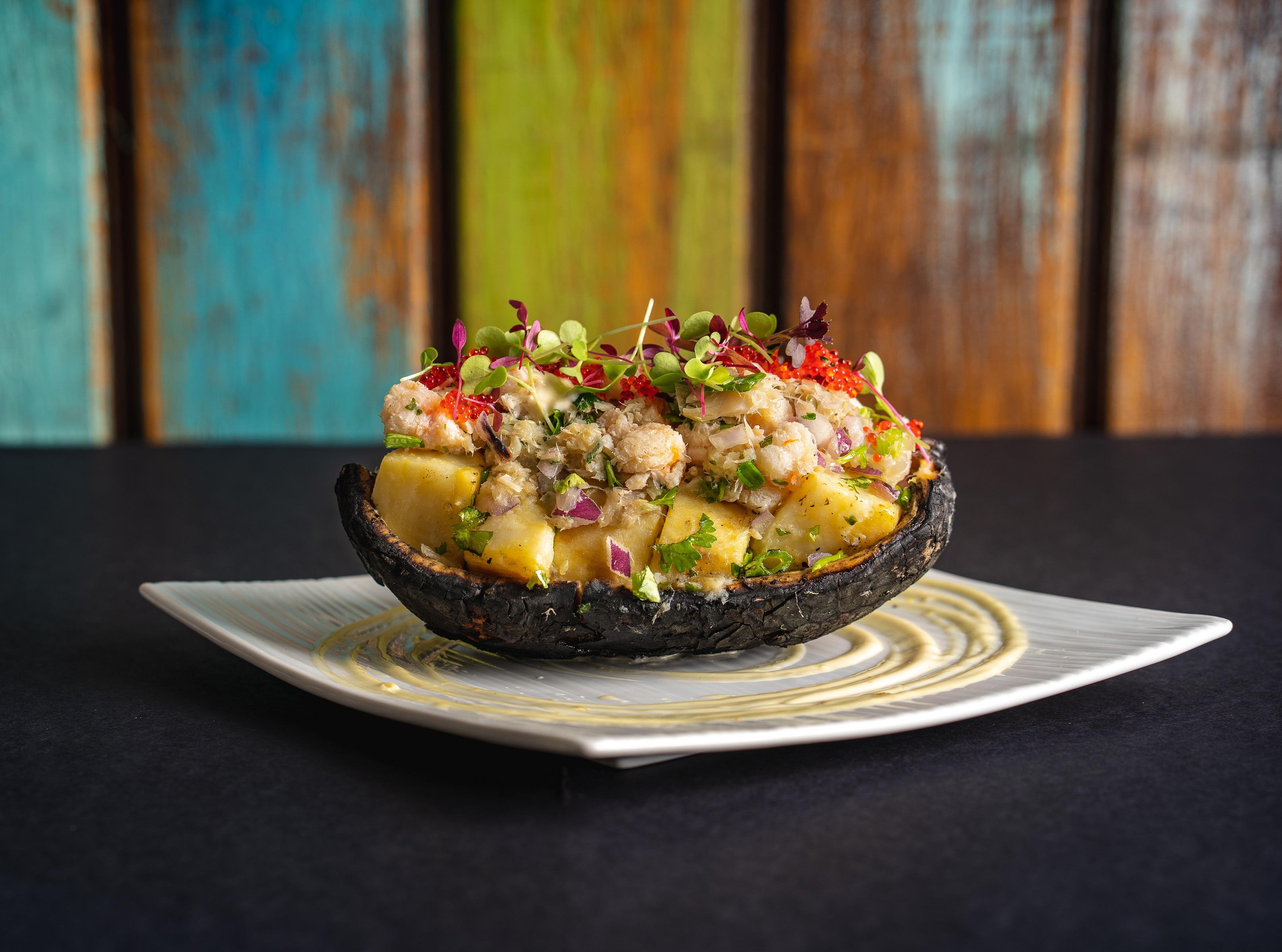 Cocktail Kitchen - Roast Breadfruit & Lobster