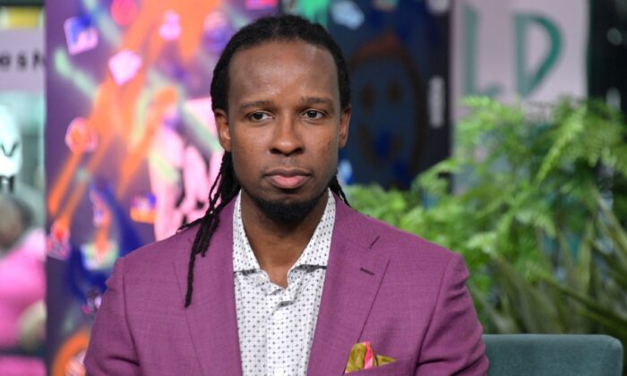 Ibram X. Kendi is seen in a New York City studio on March 10, 2020. (Michael Loccisano/Getty Images)