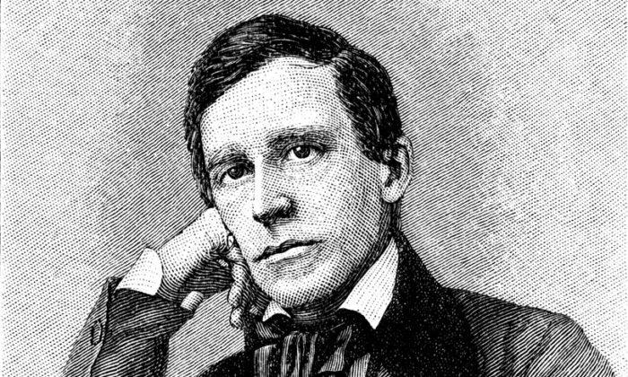 American songwriter Stephen Collins Foster. Detail of an engraving by unknown artist from Harper's Monthly Magazine printed in 1880. (Stocksnapper /Shutterstock)