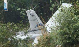 Training Aircraft Crashes in Lebanon, Three Feared Dead