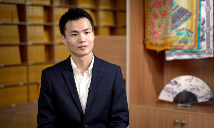 Zhao Jiheng is a dancer with Shen Yun Performing Arts. (Courtesy of NTD)