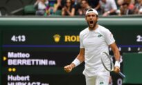 Berrettini seals Wimbledon final berth with Hurkacz win