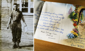 1,500 Letters Written by World War II Soldier to His Wife Discovered: 'Amazing Collection'
