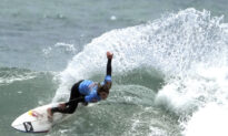 Teen Surfer Rides Memorable Wave to Tokyo