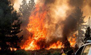 California Wildfires Destroy Homes, Threaten Yosemite National Park