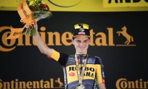 American Sepp Kuss Wins Tour de France's Grueling 15th Stage