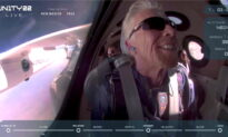 Billionaire Richard Branson Soars to Space Aboard His Own Rocket Plane
