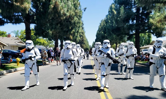 Members of the 501st Legion wear the costumes of their favorite 'Star Wars' characters while raising money for charities. (Courtesy of Briian Hazelrigg)