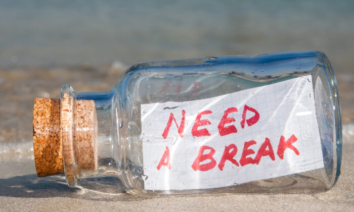 We're told to value productivity, but sooner or later, we all need a break. (Funny Solution Studio/Shutterstock)