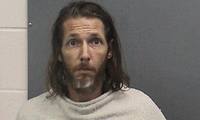 Suspect Shawn Michael Chock, on June 19, 2021. (Navajo County Sheriff Office via AP)