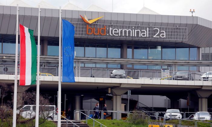 The Ferenc Liszt airport's terminal 2A in Budapest, Hungary, on March 29,2016. (Laszlo Balogh/Reuters)