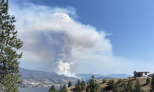 New B.C. Wildfire Forces Evacuations in South Okanagan as Some Heat Warnings Resume