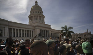 State Department Official Criticized for Depicting Cuba's Anti-Communism Protest as a COVID-19 Demonstration