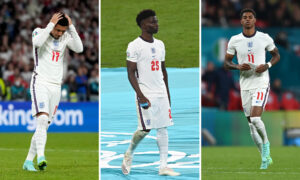 Police to Investigate Racial Abuse of England Players After Euro 2020 Loss