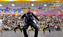 SRO Dances at High School to Say Goodbye