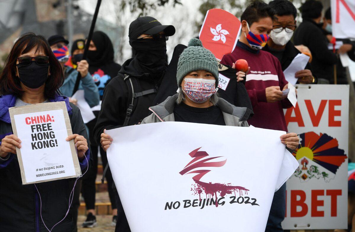 Boycott 2022 Olympics
