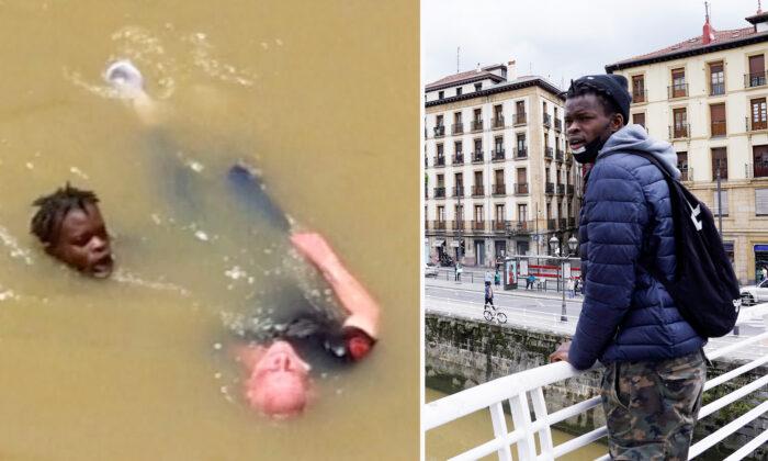 Left: (Screenshot/Reuters); Right: (Reuters/Vincent West)