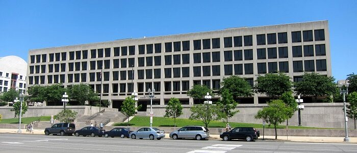 The headquarters of the Department of Labor in Washington on May 30, 2010. (AgnosticPreachersKid via Wikimedia Commons/CC BY-SA 3.0)