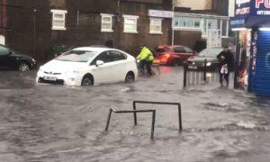 Flash Floods Across London Cause Travel Chaos