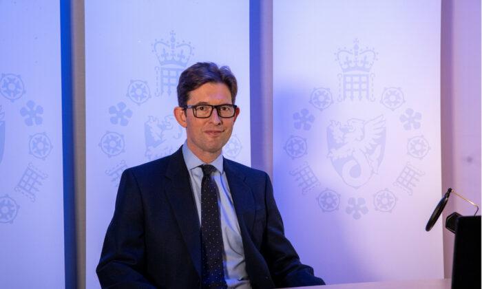 MI5 Director General Ken McCallum is photographed in London, Britain, Oct. 14, 2020. (UK Government/Handout / Reuters)