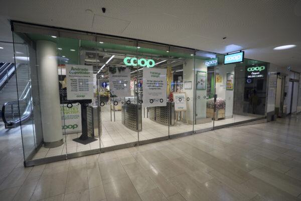 Closed Coop supermarket