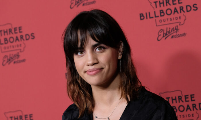 """Actress Natalie Morales attends the premiere of """"Three Billboards Outside Ebbing, Missouri"""" at Neuehouse Hollywood in Los Angeles on Nov. 3, 2017. (Chris Delmas/AFP via Getty Images)"""