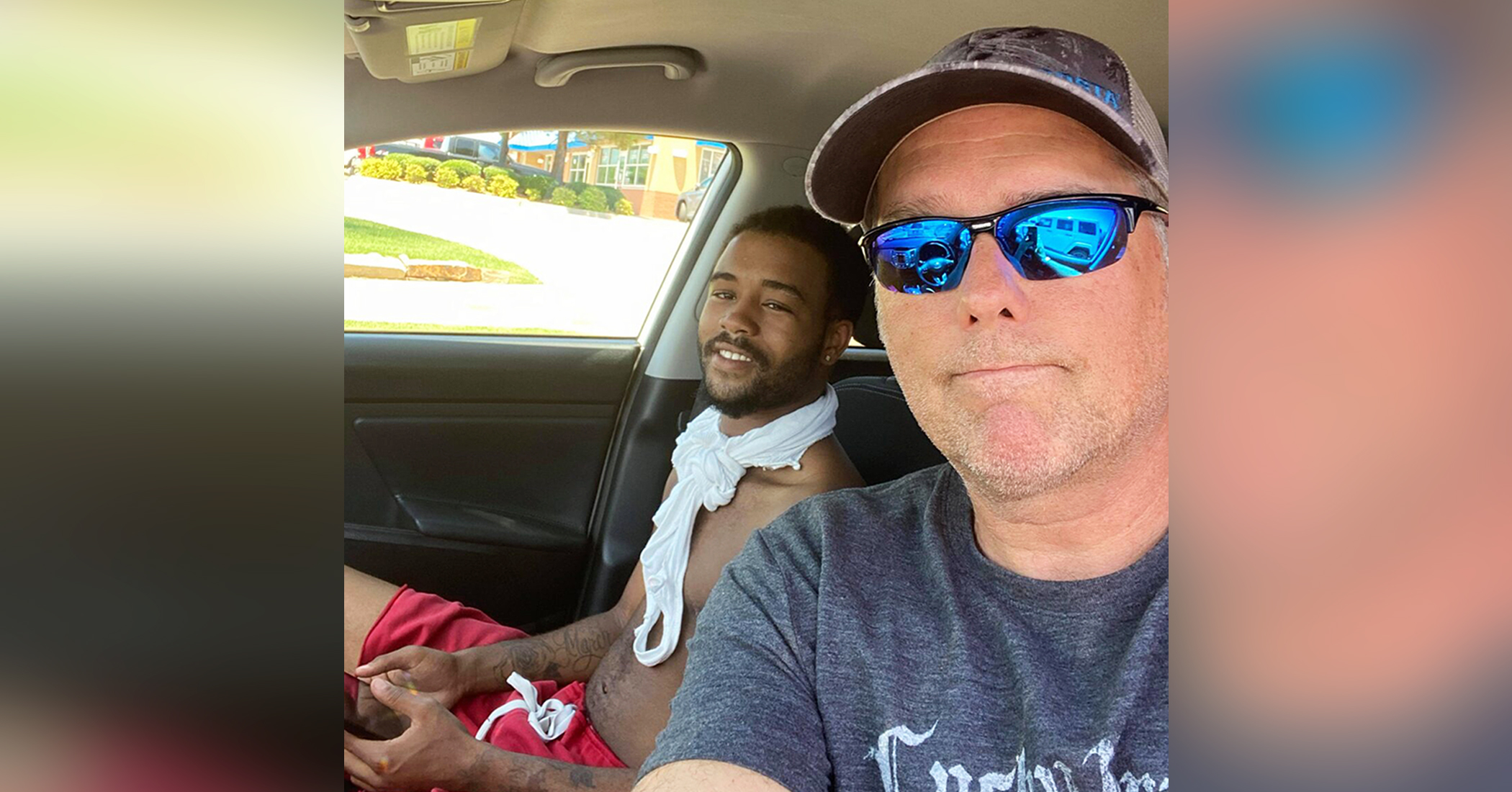 Oklahoma man walks 17 miles a day for work, stranger offers a ride and turns his life around