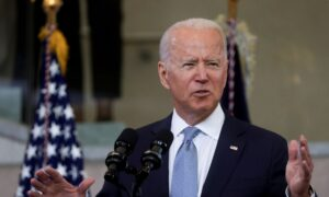 Biden Rips GOP Election Integrity Laws, Claims They're 'Racially Discriminatory'