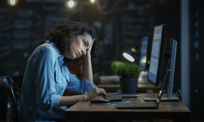 The worst light we ingest is before bed, whether it's bright home lights or screens (Gorodenkoff/Shutterstock)