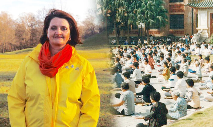 Daniela Dascalu, once severely depressed, says the spiritual practice of Falun Gong and its five meditative exercises helped her recover and reclaim her peaceful life. (Minghui.org)
