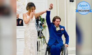 Video: Paralyzed Groom Surprises Bride by Standing and Embracing Her for First Dance