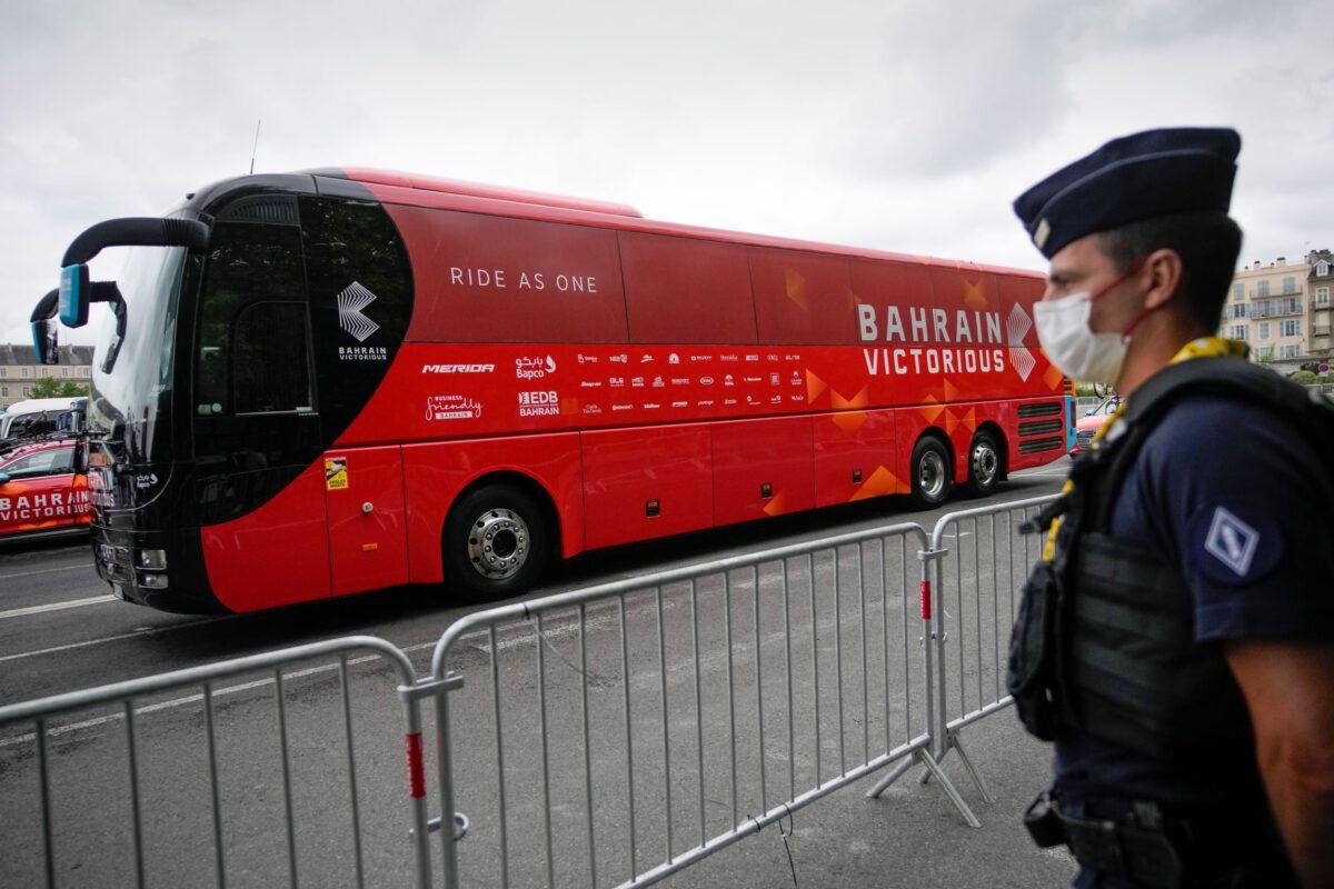 police-bahrain-team-bus