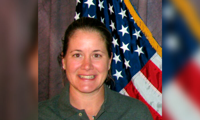 Boulder police officer Ashley Haarmann who died after tumbling in a 200-foot (70-meter) fall while hiking in Rocky Mountain National Park on July 14, 2021. (City of Boulder via AP)