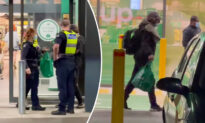 2 Police Officers Confront Homeless Man at Woolworths—but Come Back Out With Surprise for Him