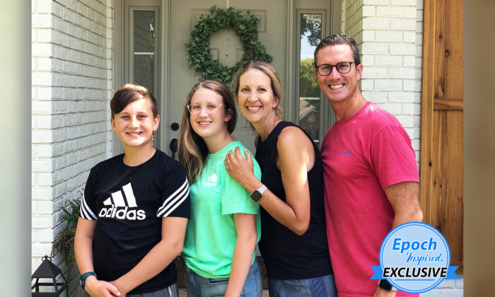 Shawn and Tanda Maguire with their son, Hayden, and late daughter, Berklee. The explosion, caused by a propane leak, leveled their house in an instant on Sept. 24, 2020. (Courtesy of Shawn and Tanda Maguire)