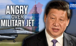 US Military Jet Stops in Taiwan, China Angry