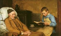 Faith of Our Fathers: 'Reading Devotions to Grandfather'