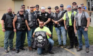 Hundreds of Bikers Back Fallen Police Officers' Families With Huge Motorcycle Rally in Toledo