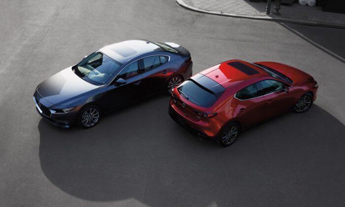 2021 Mazda 3. (Courtesy of Mazda)