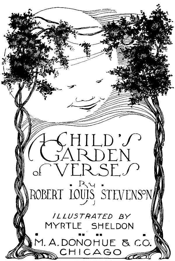 Louis Stevenson's book of children's poetry.