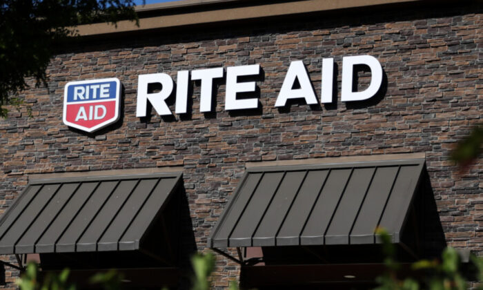 The Rite Aid logo in a file photo. (Justin Sullivan/Getty Images)