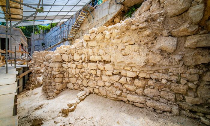 (Courtesy ofKoby Harati, City of David via Israel Antiquities Authority)
