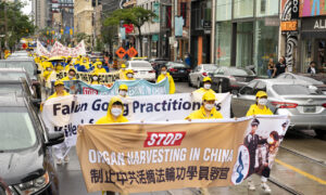 Hundreds Join Toronto Parade Marking 22 Years of Falun Gong Persecution in China