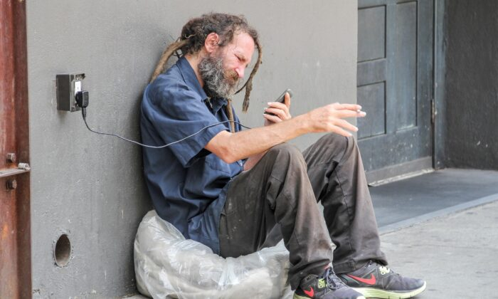 Even cellphones intended for public good cannot be separated from thier known and unknown negative effects. (Gunter Nuyts/Shutterstock)