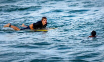 11-Year-Old Boy Caught in Riptide, Drowning, When Surfer Paddles to the Rescue, Saves His Life