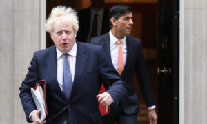 UK Prime Minister, Finance Minister Self-Isolate After Health Secretary Tests Positive for CCP Virus