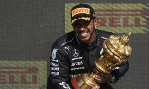 Hamilton Wins British GP After Verstappen Crash