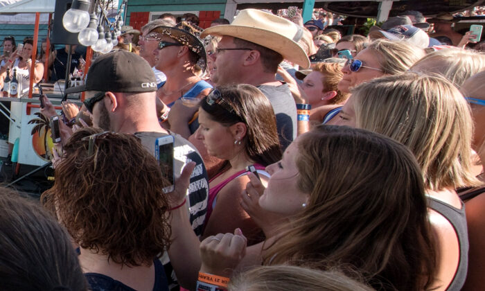 Attendees at Faster Horses Festival in Brooklyn, Mich., in a file photo. (Daniel Boczarski/Getty Images for Malibu Rum)